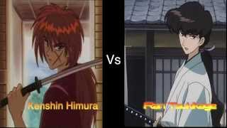 Kenshin Himura vs Ran Tsukikage (Short battle)