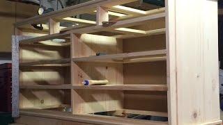 Scrap Wood Dresser Pt3