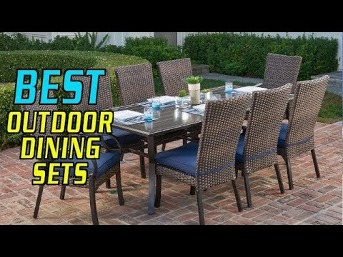 Top 5 Best Outdoor Dining Sets In 2019