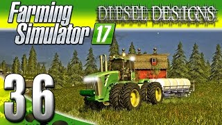 Farming Simulator 2017 Gameplay :EP36: John Deere 9630 Dually! (PC HD Goldcrest Valley)