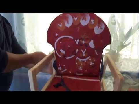 Какой вам нужен детский стул  для кормления, какой выбрать стульчик кормление