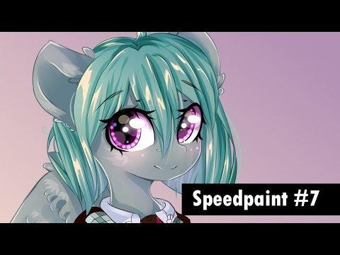 Speedpaint #7 Hyperdimension Neptunia Cosplay