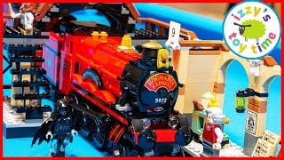 LEGO HOGWARTS EXPRESS! Fun Toy Trains for Kids!