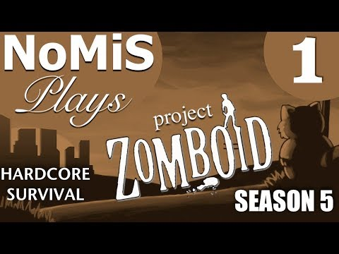 PROJECT ZOMBOID HARDCORE SURVIVAL | BUILD 39 | S05 EP. 1 - R