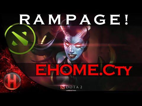 EHOME.Cty R A M P A G E! vs. Newbee.Y Dota 2 Major