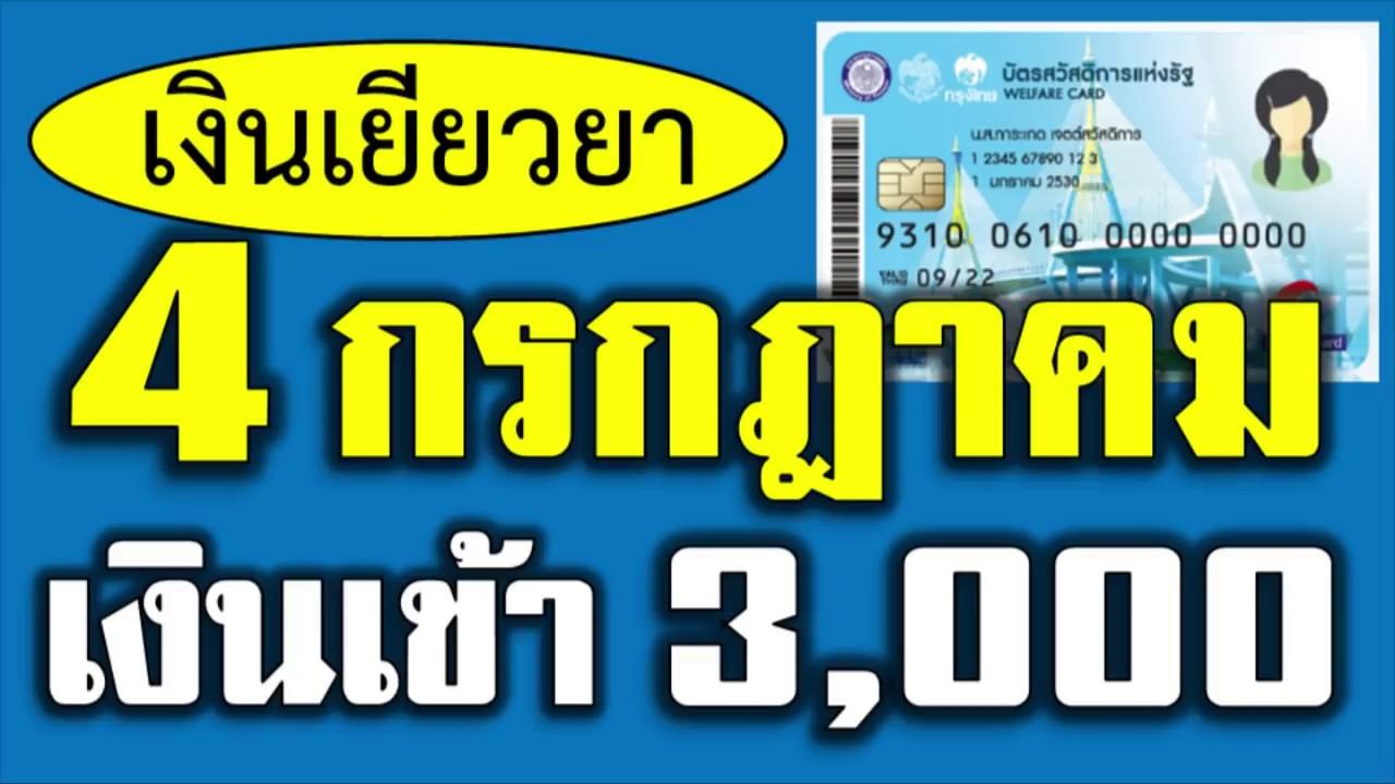 #บัตรคนจน #บัตรสวัสดิการแห่งรัฐ หลักเกณฑ์! โอนเงินเยียวยาคนละ 3,000 บาทบัตรคนจน วันที่ 4 ก.ค.นี้