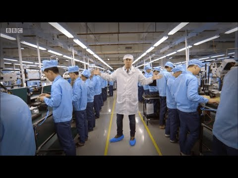 Made In China: Mobile Phone Factory Behind The Scenes.