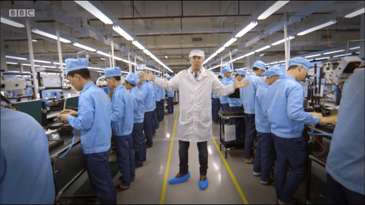 Made In China: Mobile Phone Factory Behind The Scenes