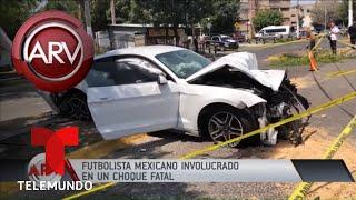 Joao Maleck provocó mortal choque automovilístico | Al Rojo Vivo | Telemundo