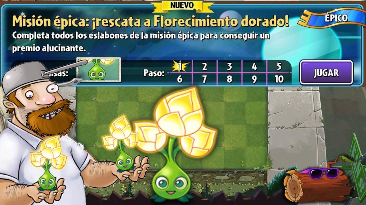 Plants vs zombies 2 misi n pica florecimiento dorado for Fotos de la casa de plantas vs zombies