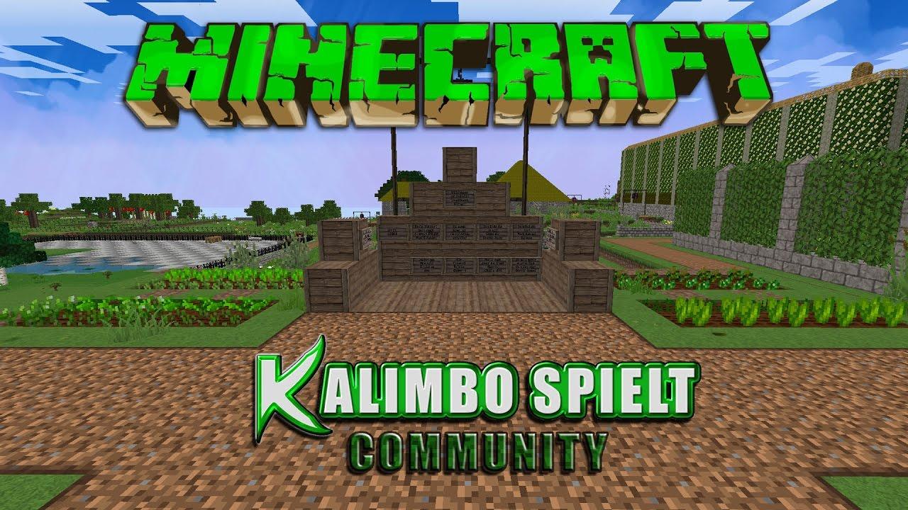 KaSp Live MinecraftMultiplayerPCFolge Mit Spielen - Minecraft spielen multiplayer