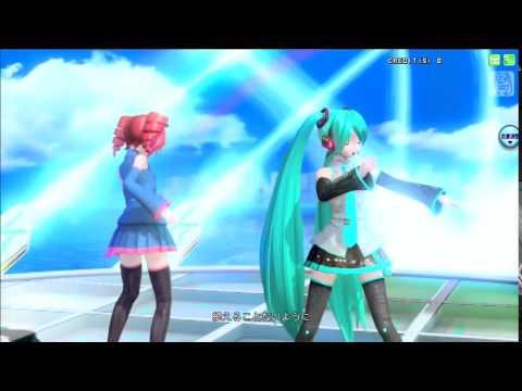 [her voice] Kasane Teto & Hatsune Miku - Promise - Project Diva Arcade FT