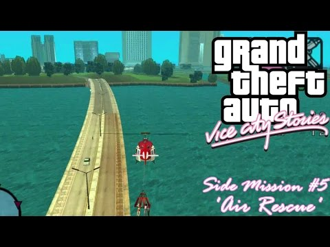 GTA: Vice City Stories (PSP Emu) Side Mission #5 - Air Rescue