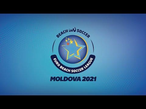 SLOVAKIA vs MOLDOVA - Euro Beach Soccer League - Regular Phase Moldova 2021