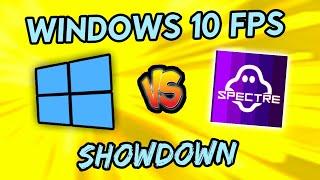 Windows 10 Vs. Windows 10 LITE (ghost spectre), MORE FPS for Gamers?