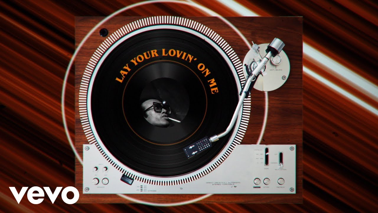 Bobby Womack - Lay Your Lovin' On Me (Official Lyric Video)