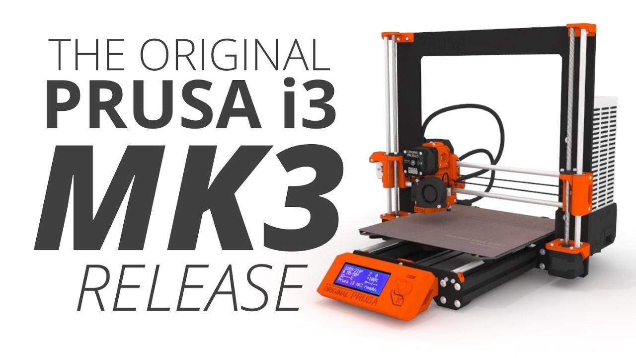 Original Prusa i3 MK3 kit