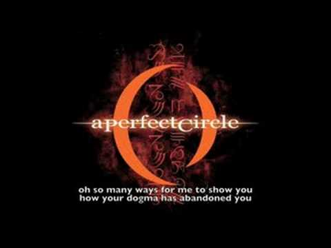 A Perfect Circle - Judith (lyrics)