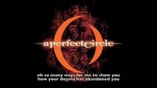 A Perfect Circle - Judith (lyrics)