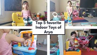 Top 5 Favorite Toys Of Arya   1-2 Year Old Kids Toys   Momcafe