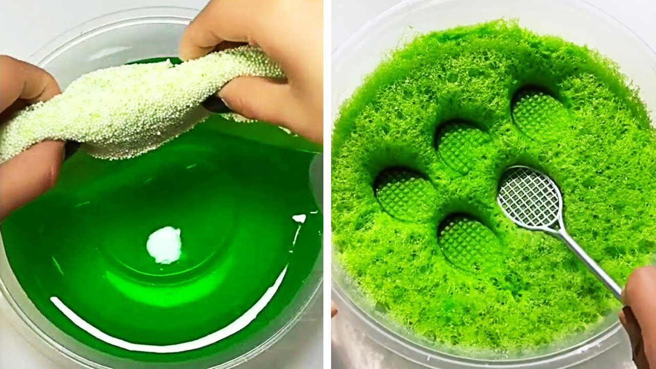Relaxing Slime Compilation ASMR | Oddly Satisfying Video #39