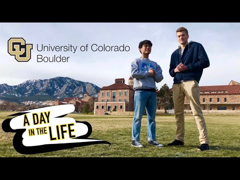A Day in The Life at CU Boulder