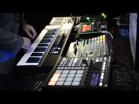Komplete Kontrol Jam Session Native Instruments Maschine Alicia Keys Komplete Massive Ableton