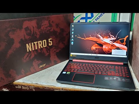 Acer Nitro 5 AN515-54 Gaming Laptop Unboxing (Core i5-9th Gen./8GB/1TB+256GB SSD/Win10/4gb Nvidi1650