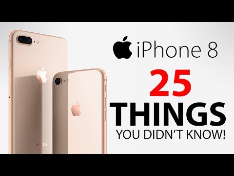 iPhone 8 & 8 Plus - 25 Things You Didn't Know!