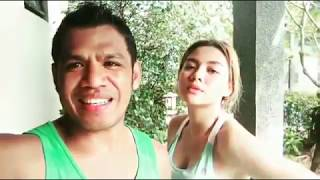 Vicky Shu Latihan Muay Thai