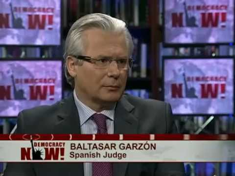 Judge Baltasar Garzon on Osama Killing, Prosecuting Torturers & the Case Against Him in Spain 1 of 2