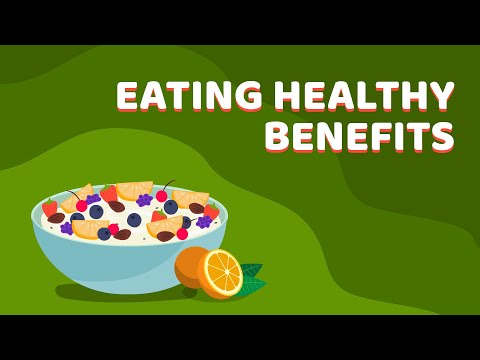 Top 7 benefits of a healthy diet   Health and Nutrition