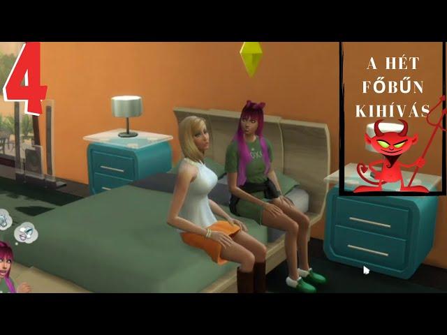 Gonoszkodjunk (4.rész)😈A HÉT FŐBŰN KIHÍVÁS / THE SEVEN DEADLY SINS LEGACY CHALLENGE/The Sims 4