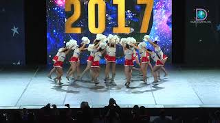 Electric Girls Dance (Chile) - Electric Girl [2017 Open Pom Finals]