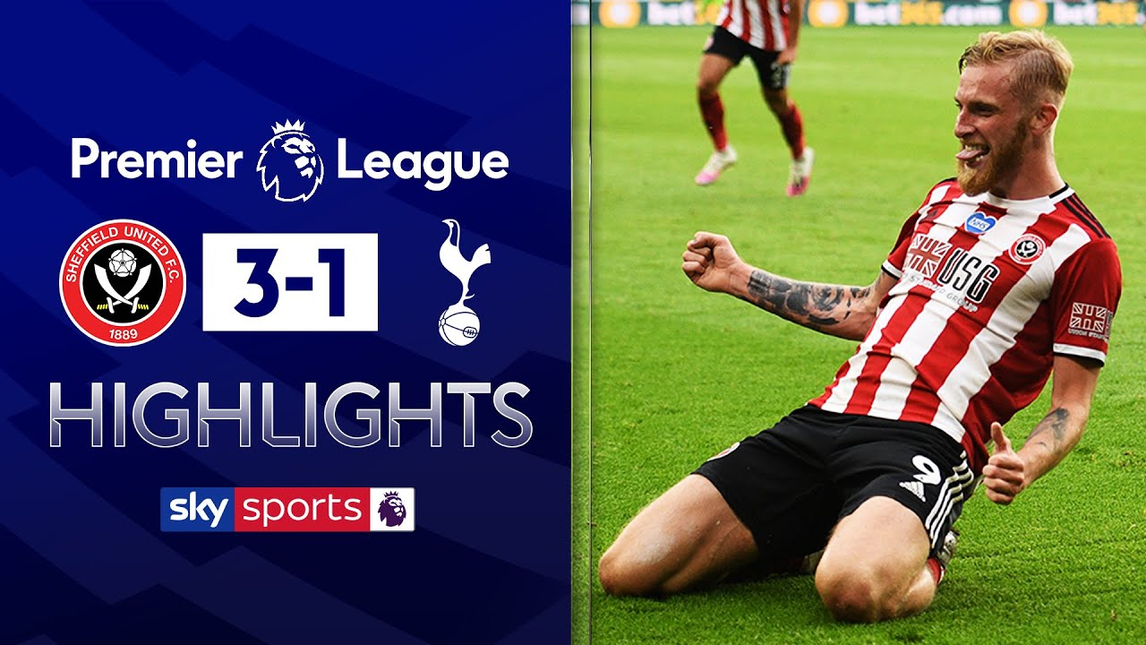 Blades hit 3 past Tottenham as Spurs fume at VAR decision | Sheff Utd 3-1 Tottenham | EPL highlights