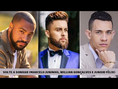 Marcelo Juninho,Júnior Félix e Willian Gonçalves-VOLTE A SONHAR