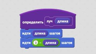 Урок 2. Блоки с параметрами - Луч