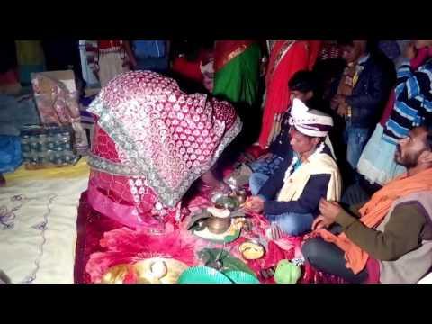 Bhojpuri wedding in chumawan rasam in chapra. Bihari jugar