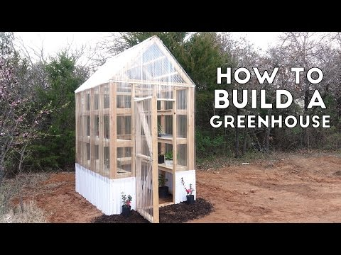 How to Build a Simple, Sturdy Greenhouse from 2×4's | Modern Builds | EP. 58