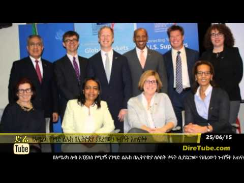 Los Angeles Trade Delegation's Visit in Addis Ababa
