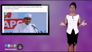 Buhari Warns Ballot Box Snatchers; Apostle Suleman  Says Better To Vote For A Thief; 1000 Clergy ..