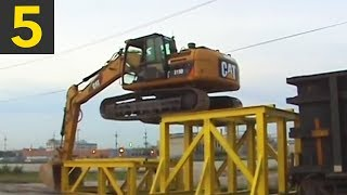 Top 5 Awesome Excavator Tricks