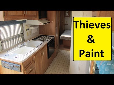 RV Theft 👺happens fast and Remodel ideas