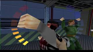 GoldenEye 007 Mission 7 Frigate 00Agent {No Commentary}
