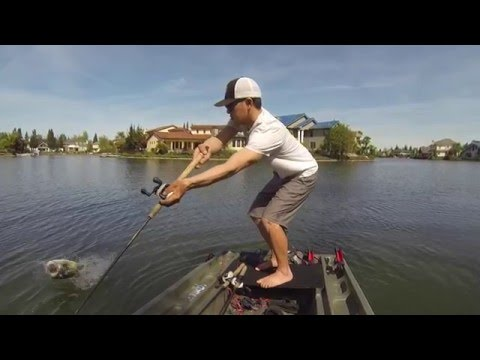 Largemouth Bass on the River2Sea Whopper Plopper