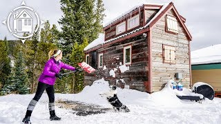 Winter In A Tiny House: How I Survive & Tricks To Stay Warm