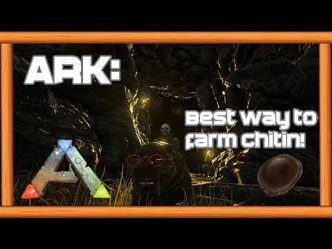 Best way to get Chitin in ARK: Survival Evolved