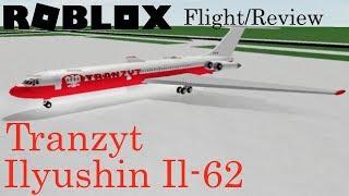 Volo Tranzyt Ilyushin Il-62 Recensione di ROBLOX Airline