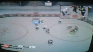 Capitals VS Pittsburgh Penguins NHL 2k8 Ps2 Period 1 HD