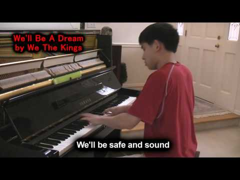 We The Kings - We'll Be A Dream (ft. Demi Lovato) Piano Cover by Will Ting Music Video
